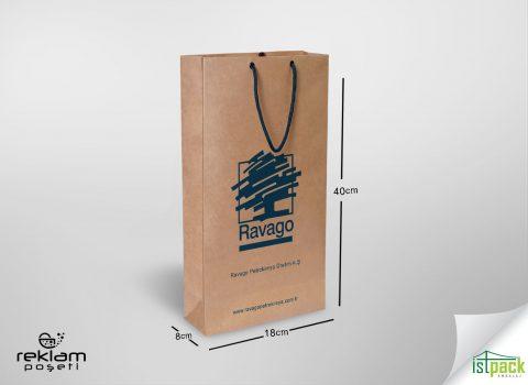 Evo için ürettiğimiz kraft karton poşet